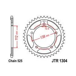 ZĘBATKA JT TYŁ JTR1304.42