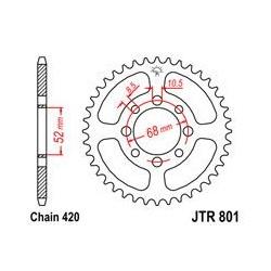 ZĘBATKA JT TYŁ JTR801.37