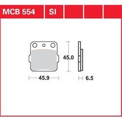KLOCKI HAMULCOWE LUCAS MCB554SI