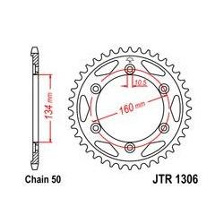 ZĘBATKA JT TYŁ JTR1306.42