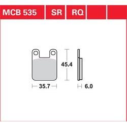 KLOCKI HAMULCOWE LUCAS MCB535