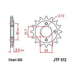 ZĘBATKA JT PRZÓD JTF512.17