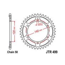 ZĘBATKA JT TYŁ JTR499.42