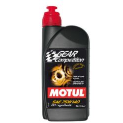 MOTUL GEAR COMPETITION 75W140 SYNTHETIC 1L