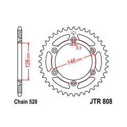 ZĘBATKA JT TYŁ JTR808.53