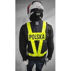 KAMIZELKA ODBLASKOWA POLSKA ROZ. XL