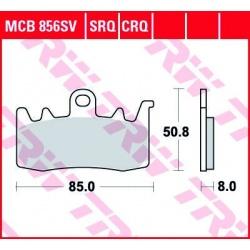 KLOCKI HAMULCOWE TRW MCB856SV