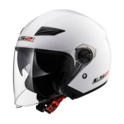 KASK LS2 OF569.2 TRACK SOLID WHITE ROZ. S