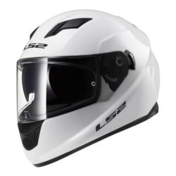 KASK LS2 STREAM SOLID WHITE ROZ. S