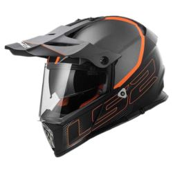 KASK LS2 MX436 PIONEER ELEMENT TITANIUM BLACK M