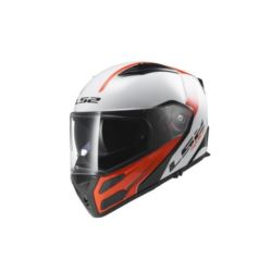 KASK LS2 METRO RAPID WHITE RED ROZ. XXL