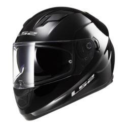 KASK LS2 FF320 STREAM SOLID BLACK ROZ. S