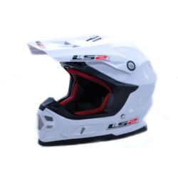 KASK LS2 MX456 SINGLE MONO WHITE L