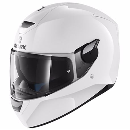 KASK SHARK D-SKWAL BLANK WHITE ROZ. XS