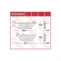KLOCKI HAMULCOWE LUCAS MCB804SI
