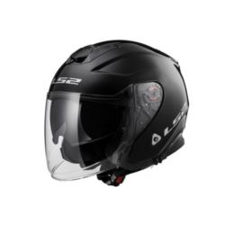 KASK LS2 OFF521 INFINITY SOLID MATT BLACK 3XL