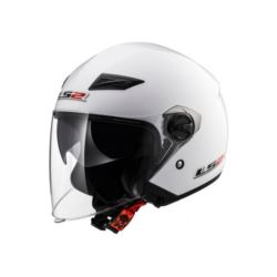 KASK LS2 OF569.2 TRACK SOLID WHITE ROZ. 2XL