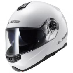 KASK LS2 FF325 STROBE SOLID WHITE ROZ. XS