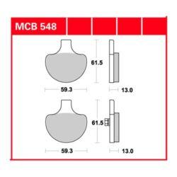 KLOCKI HAM. MCB548