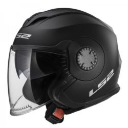 KASK LS2 OF570 VERSO SOLID MATT BLACK ROZ. M