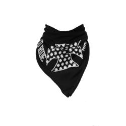 CHUSTA BANDANA LIVE TO RIDE BLACK