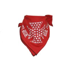 CHUSTA BANDANA LIVE TO RIDE RED