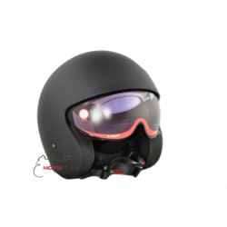KASK LS2 OF599 SPITFIRE SOLID MATT BLACK ROZ. L
