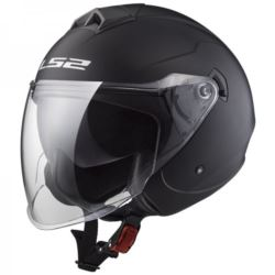 KASK LS2 OF573 TWISTER SOLID MATT BLACK ROZ. S