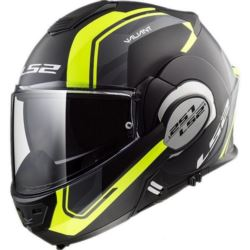 KASK LS2 FF399 VALIANT LINE M/BLACK H-V YELLOW S