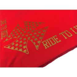 CHUSTA BANDANA LIVE TO RIDE GOLD