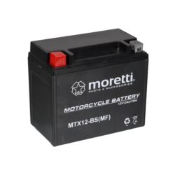 AKUMULATOR MTX12-BS AGM GEL YTX12-BS MORETTI