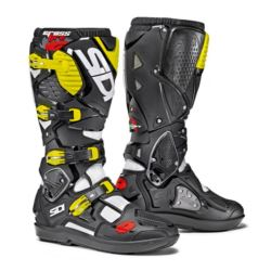 BUTY SIDI CROSSFIRE 3 WHITE BLACK YELLOW FLUO 45