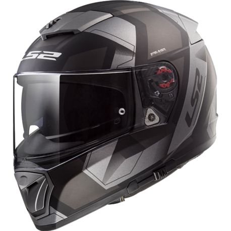 KASK LS2 FF390 BREAKER PHYSICS MATT BLACK TITAN L