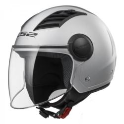 KASK LS2 OF562 AIRFLOW SOLID WHITE ROZ. XS