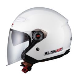 KASK LS2 OF569.2 TRACK SOLID WHITE ROZ. XL