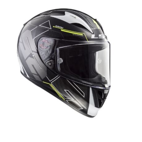 KASK LS2 FF323 ARROW R EVO TECHNO WHITE BLACK S