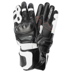 RĘKAWICE SECA ATOM III BLACK/WHITE S