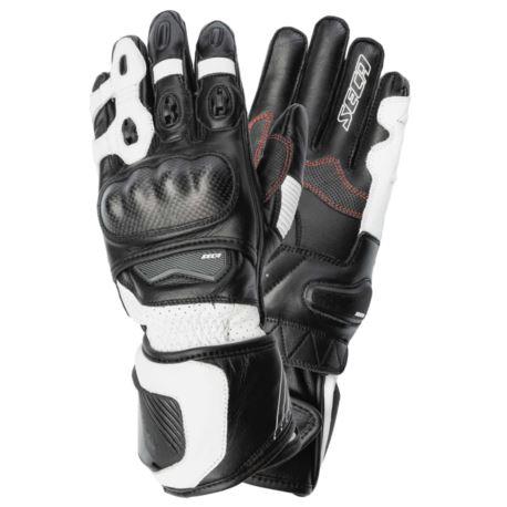 RĘKAWICE SECA ATOM III BLACK/WHITE ROZ. XL