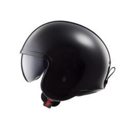 KASK LS2 OF599 SPITFIRE SOLID BLACK L