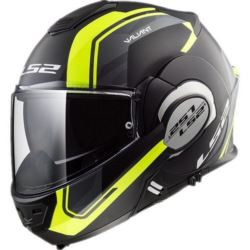 KASK LS2 FF399 VALIANT LINE M/BLACK H-V YELLOW XL