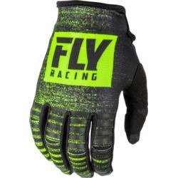 RĘKAWICE FLY RACING KINETIC CZARNY FLUO 7