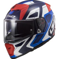 KASK LS2 FF390 BREAKER ANDROID BLUE RED M