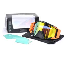GOGLE IMX SAND BLACK/ ORANGE 2 SZYBY