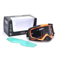 GOGLE IMX DUST ORANGE MATT/ BLACK MATT