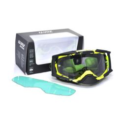 GOGLE IMX DUST GRAPHIC FLO YELLOW/BLACK