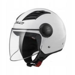 KASK LS2 OF562 AIRFLOW SOLID WHITE ROZ. L