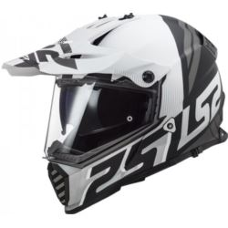 KASK LS2 MX436 PIONEER EVO EVOLVE WHITE BLACK L