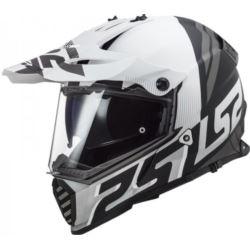 KASK LS2 MX436 PIONEER EVO EVOLVE WHITE BLACK XXL