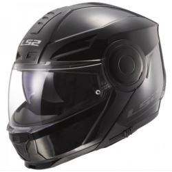 KASK LS2 FF902 SCOPE SOLID GLOSS BLACK L