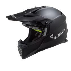 KASK LS2 MX437 FAST EVO MATT BLACK XS